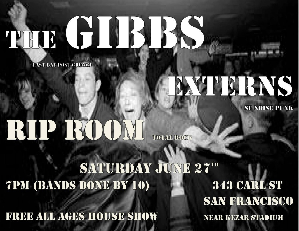 Garage Rock V Flyer